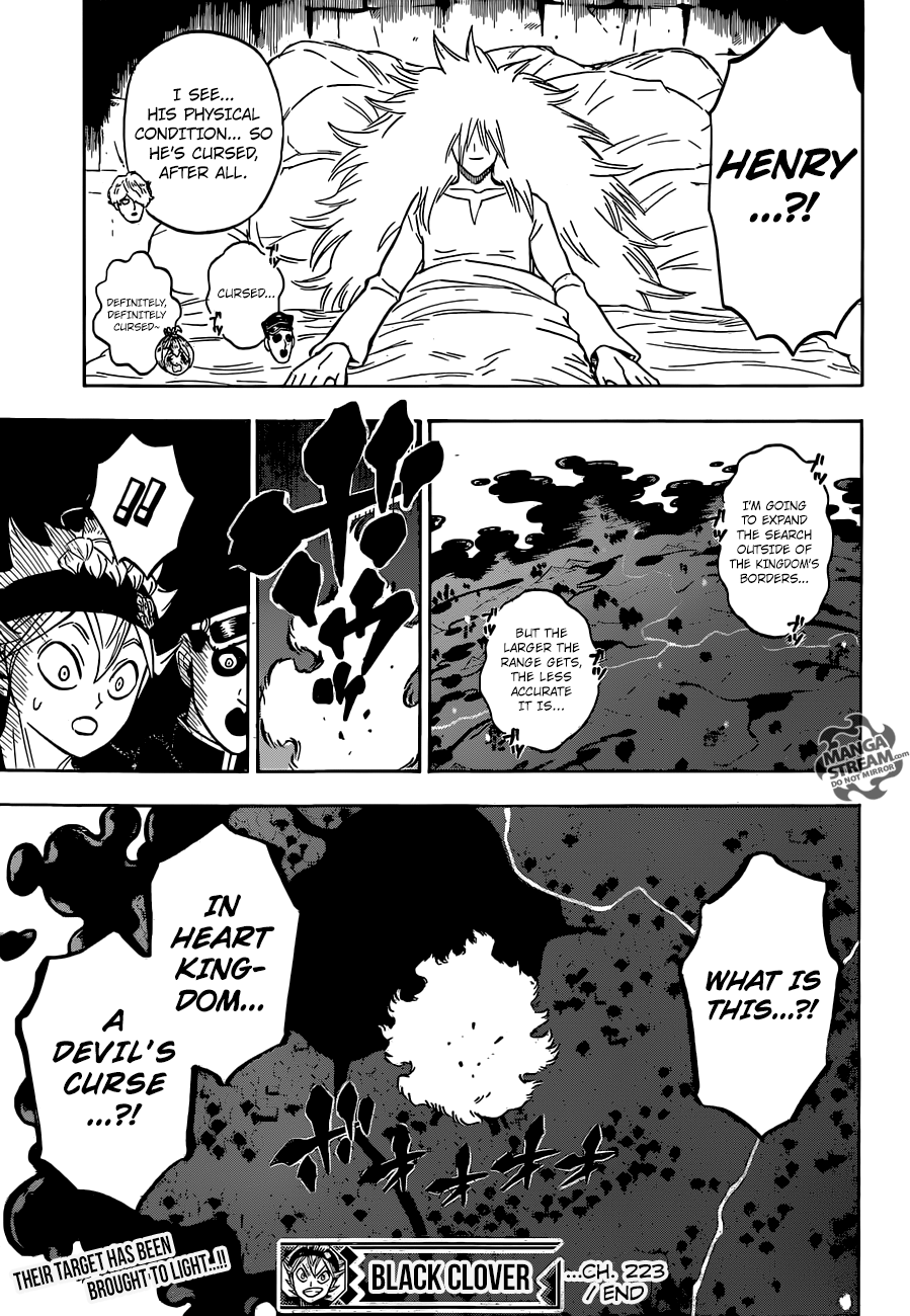 Black Clover Chapter 223  Online Free Manga Read Image 15