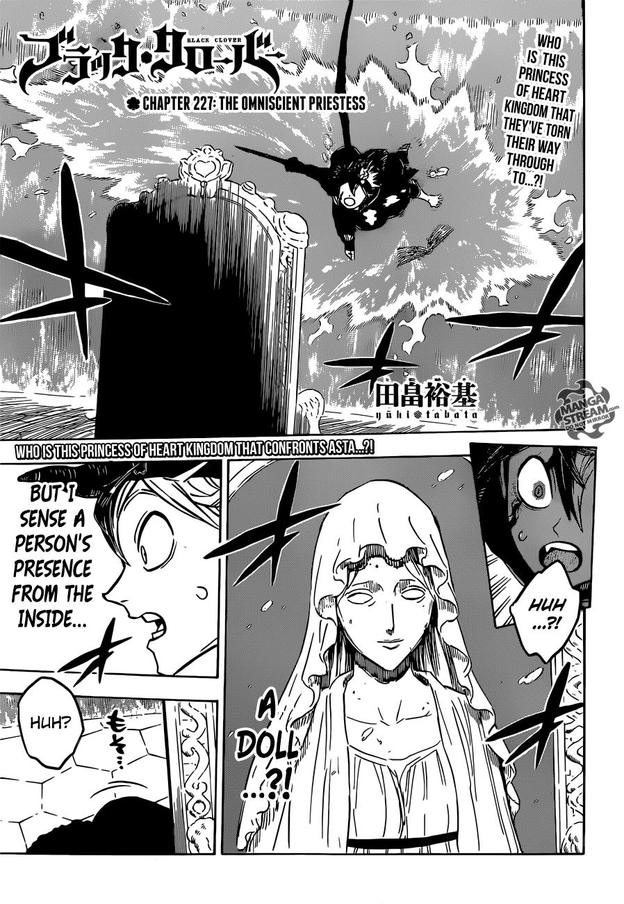 Black Clover Chapter 227  Online Free Manga Read Image 1