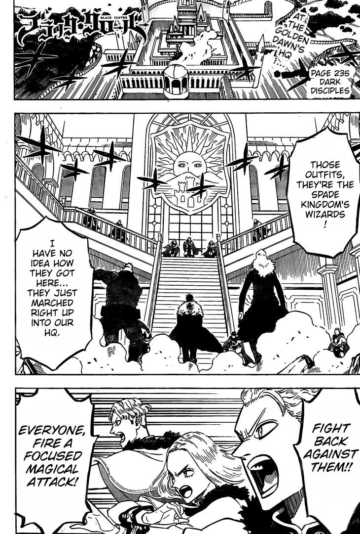 Black Clover Chapter 235  Online Free Manga Read Image 2