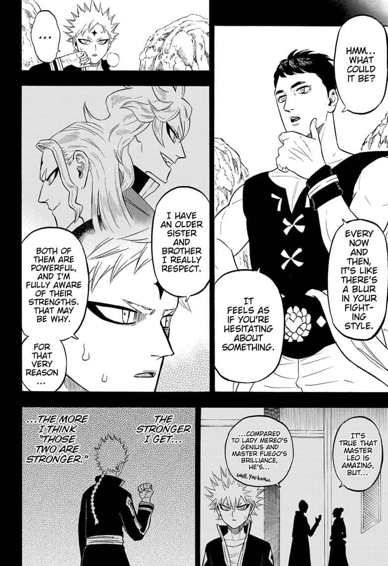 Black Clover Chapter 249 Page 2