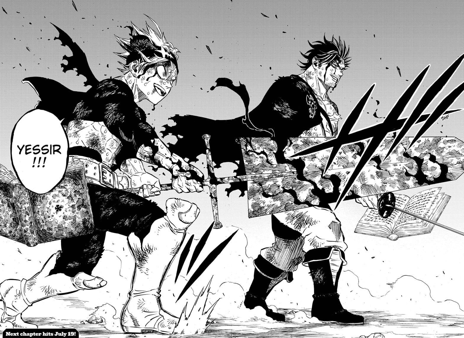 Black Clover Chapter 257 Page 11