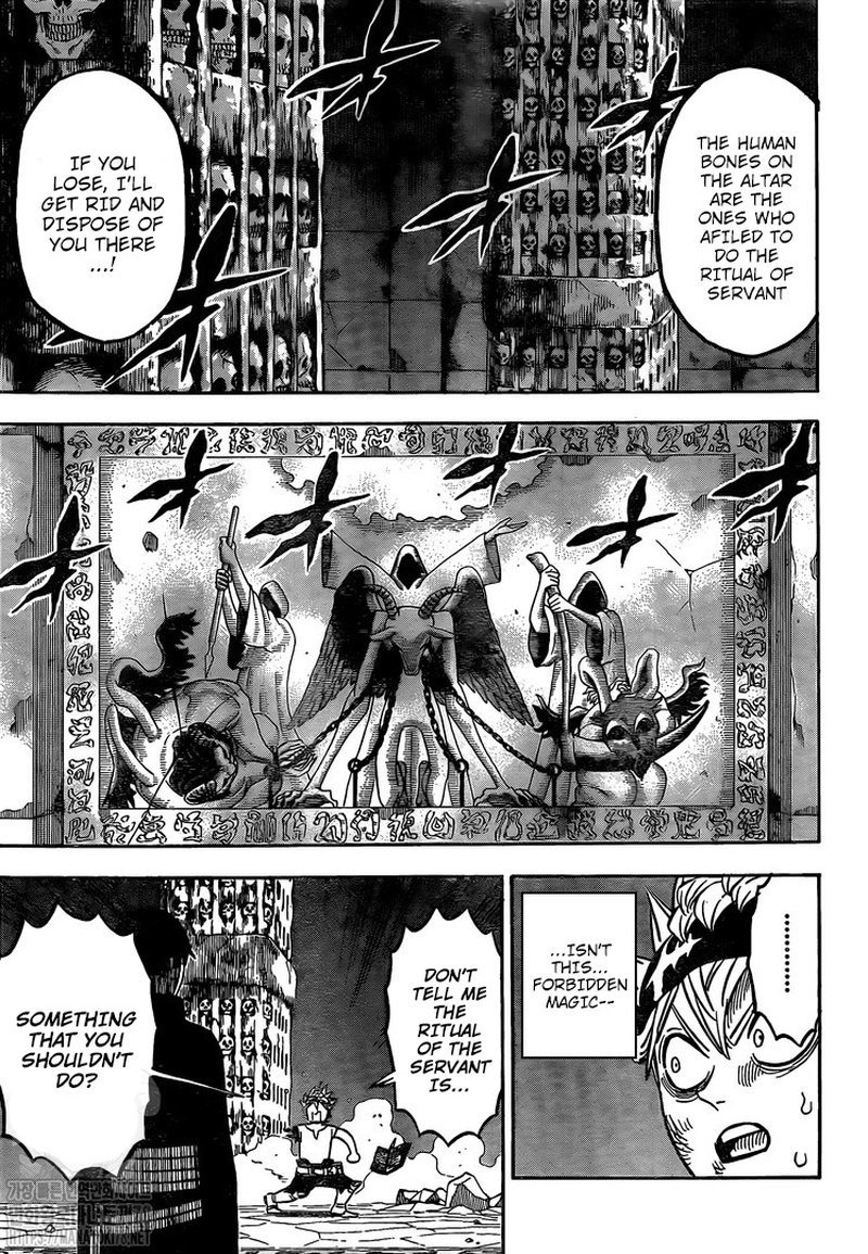 Black Clover Chapter 267 Page 8
