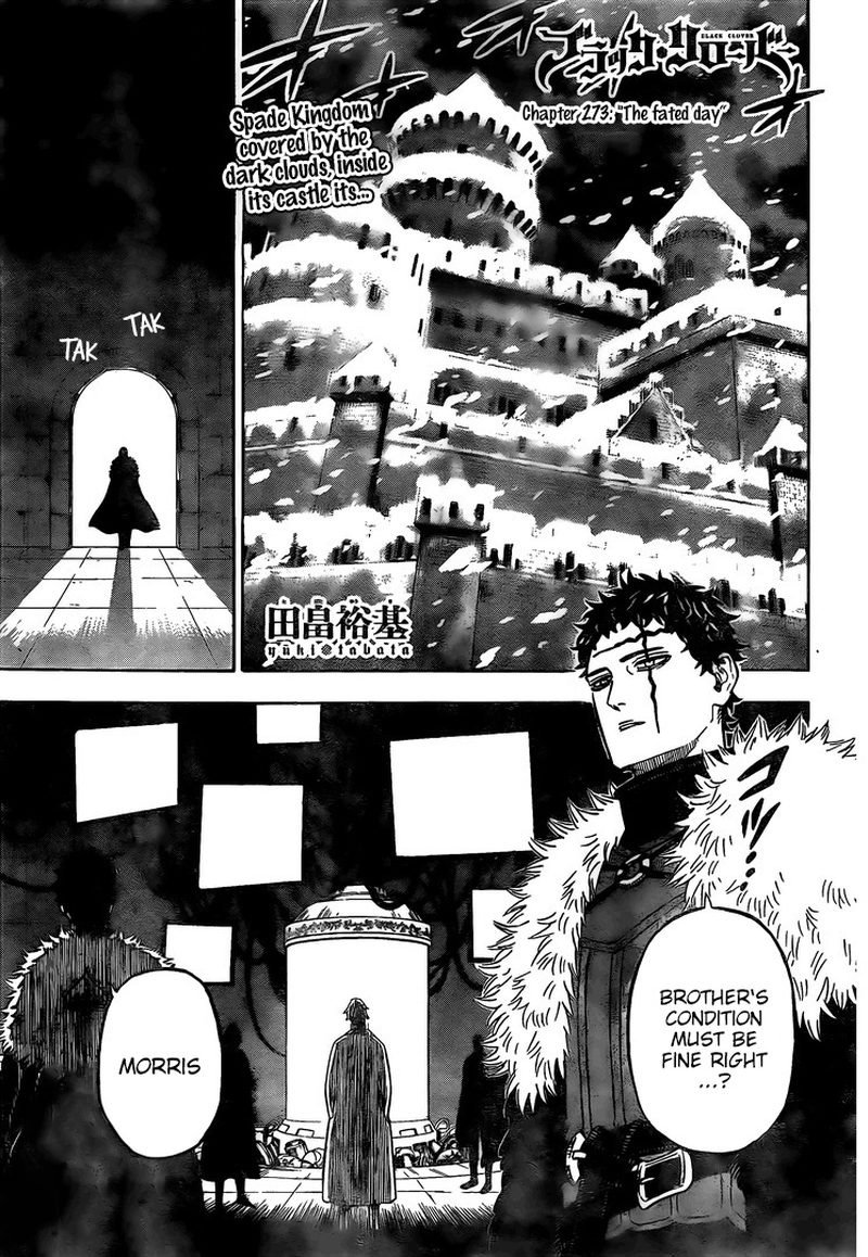 Black Clover Chapter 273 Page 0