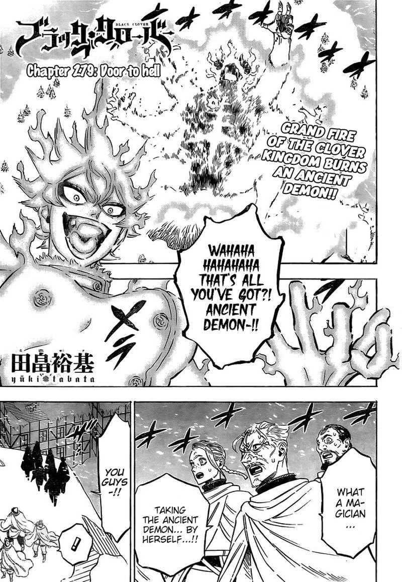 Black Clover Chapter 279 Page 0