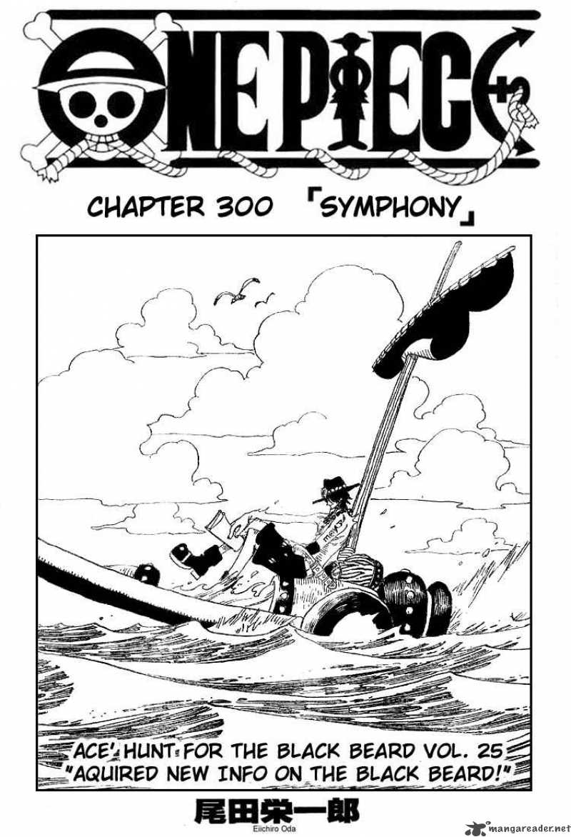 One Piece Chapter 300 Online Free Manga Read Image 1