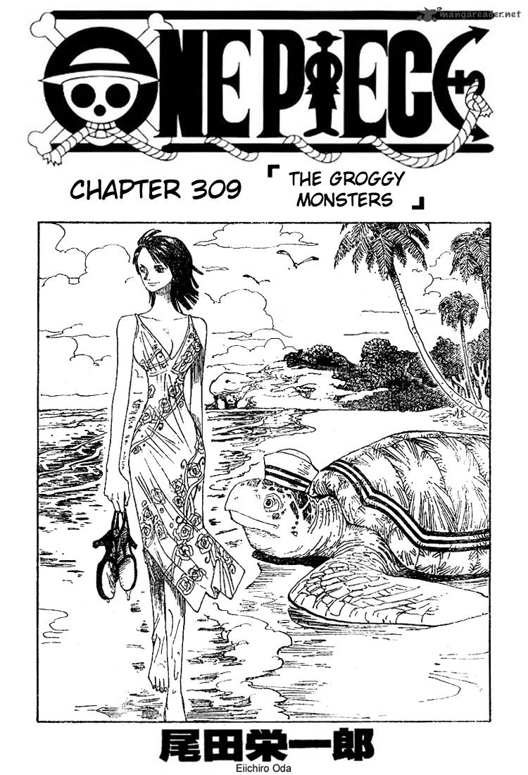 one-piece Chapter 309  Online Free Manga Read Image 1