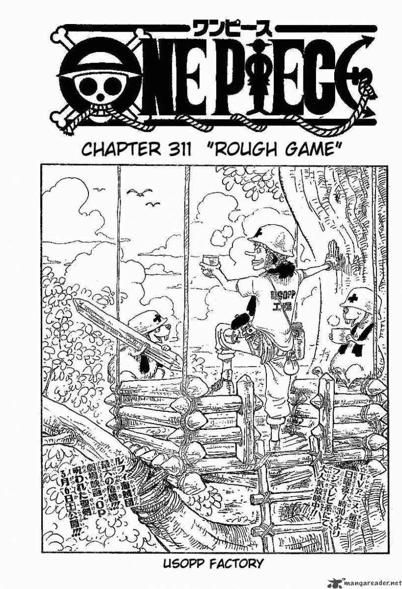 one-piece Chapter 311  Online Free Manga Read Image 1