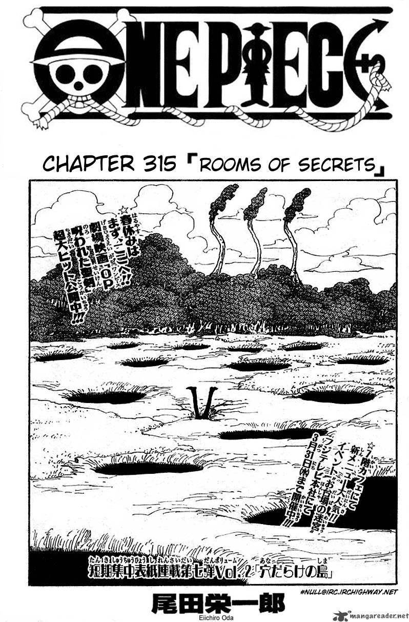 one-piece Chapter 315  Online Free Manga Read Image 1