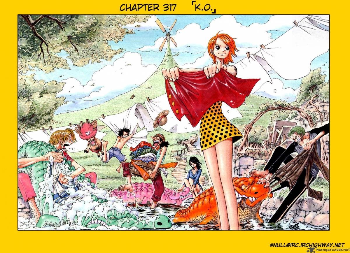 one-piece Chapter 317  Online Free Manga Read Image 1