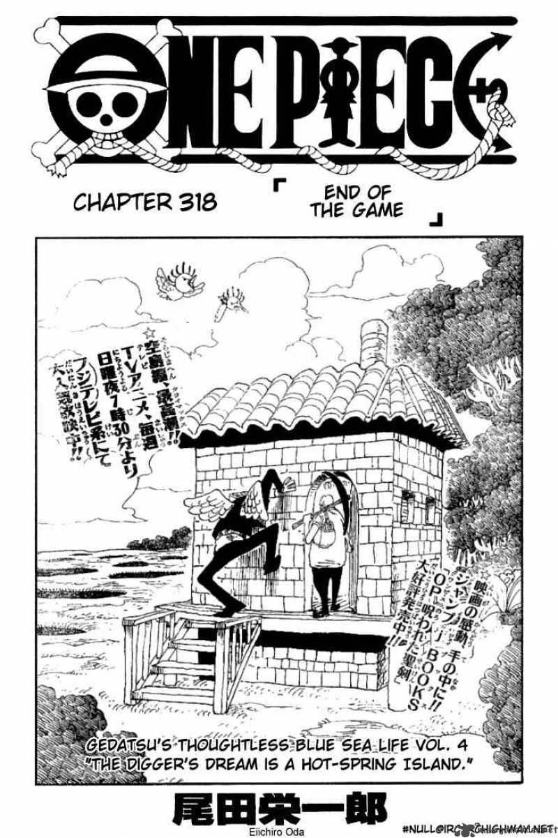 one-piece Chapter 318  Online Free Manga Read Image 1