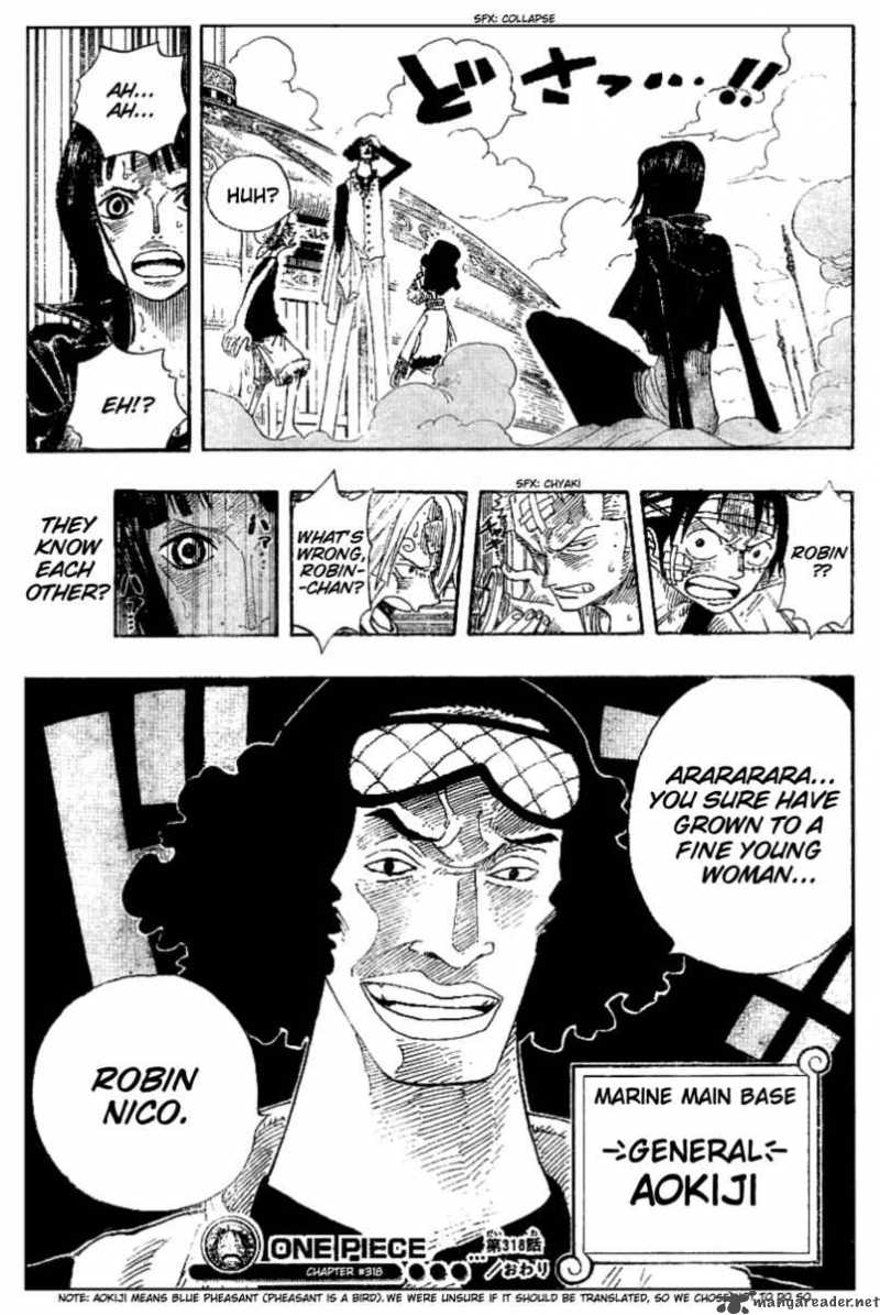 one-piece Chapter 318  Online Free Manga Read Image 19