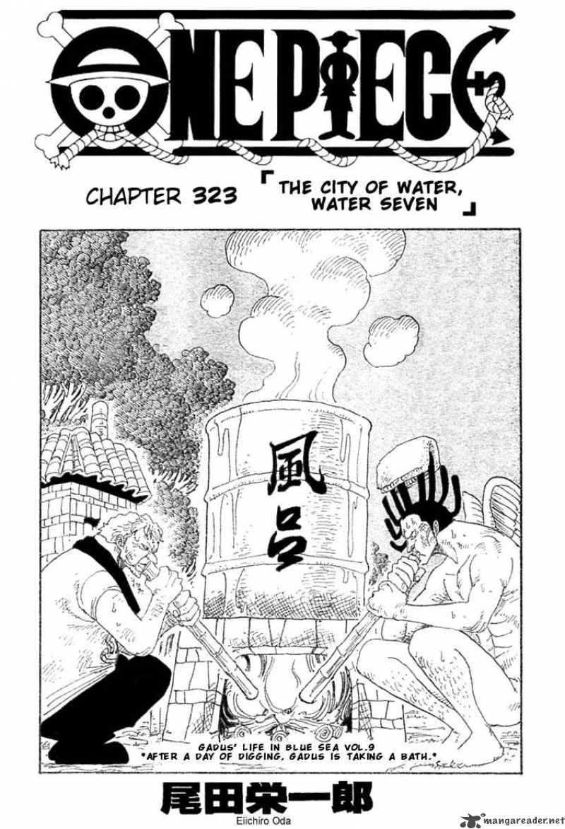 one-piece Chapter 323  Online Free Manga Read Image 1
