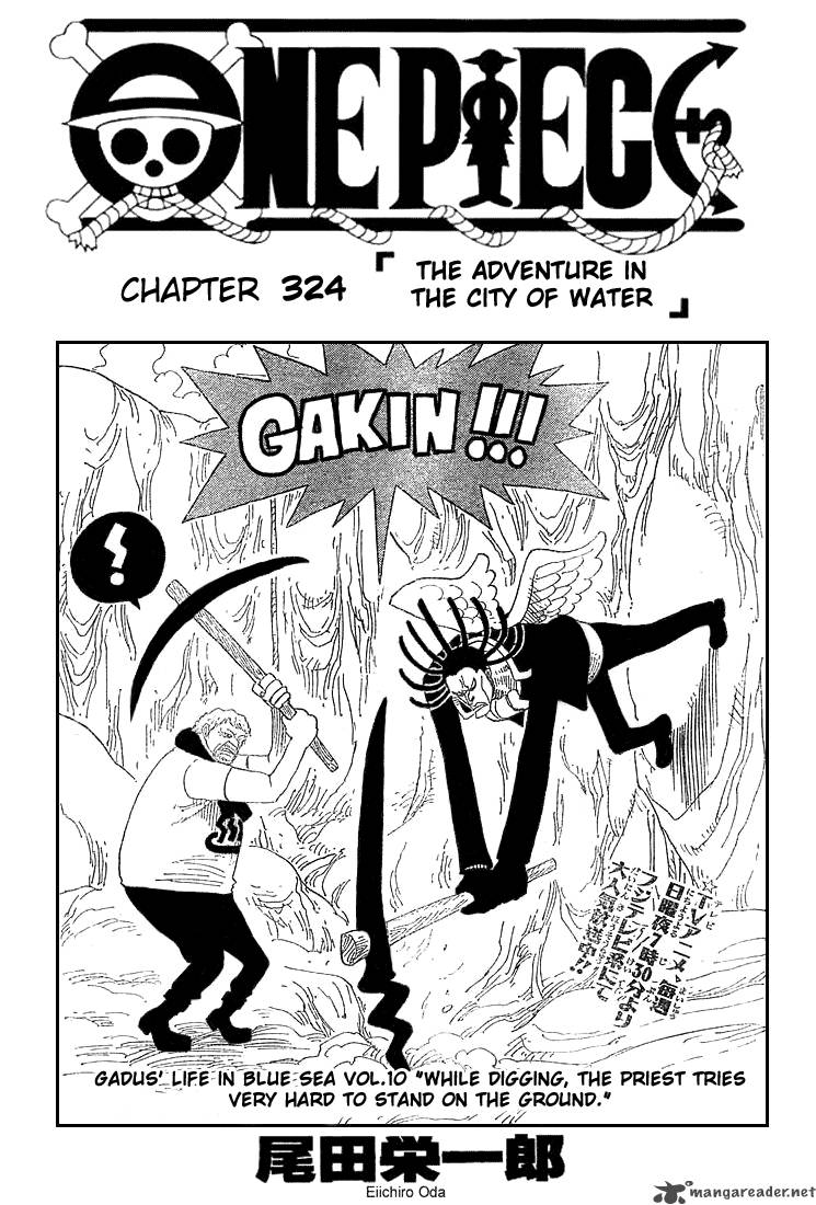 one-piece Chapter 324  Online Free Manga Read Image 1