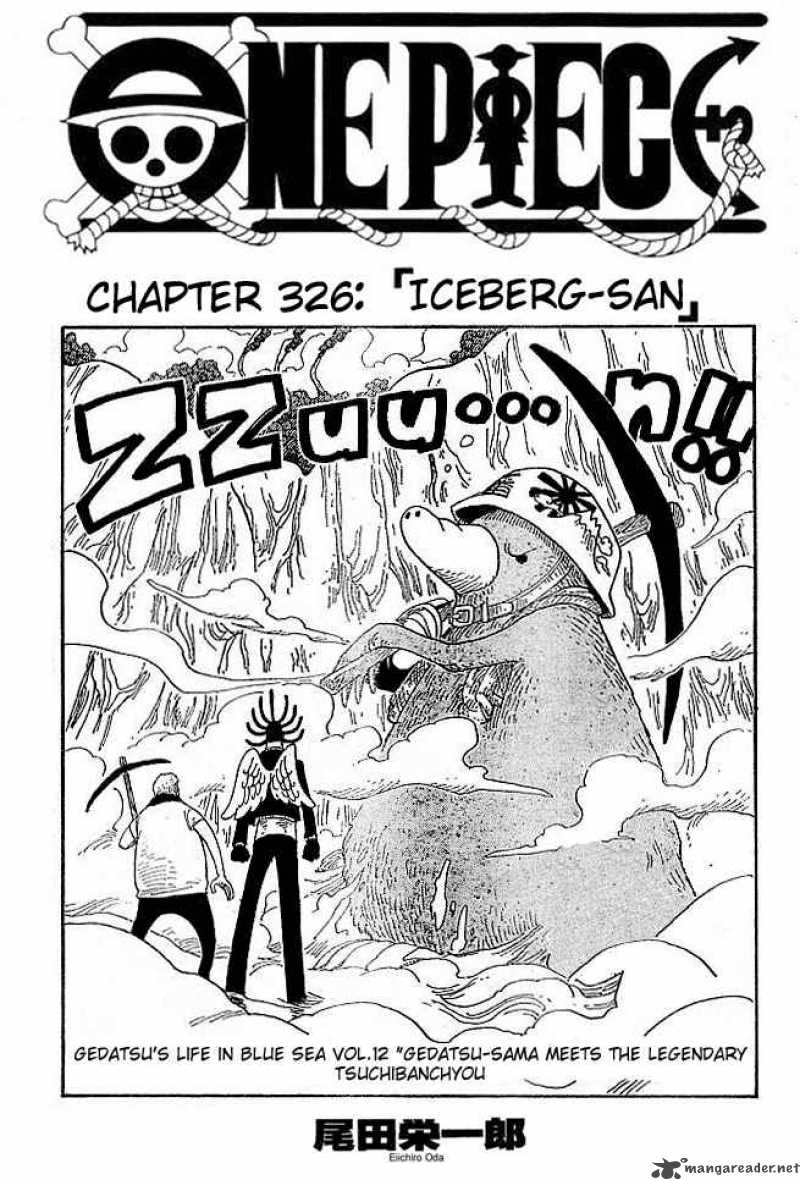 one-piece Chapter 326  Online Free Manga Read Image 1