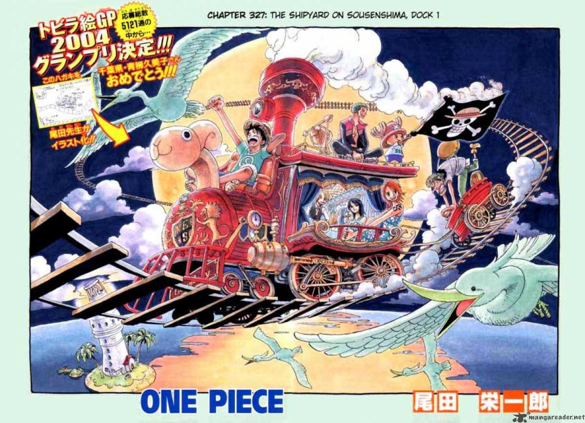 one-piece Chapter 327  Online Free Manga Read Image 1