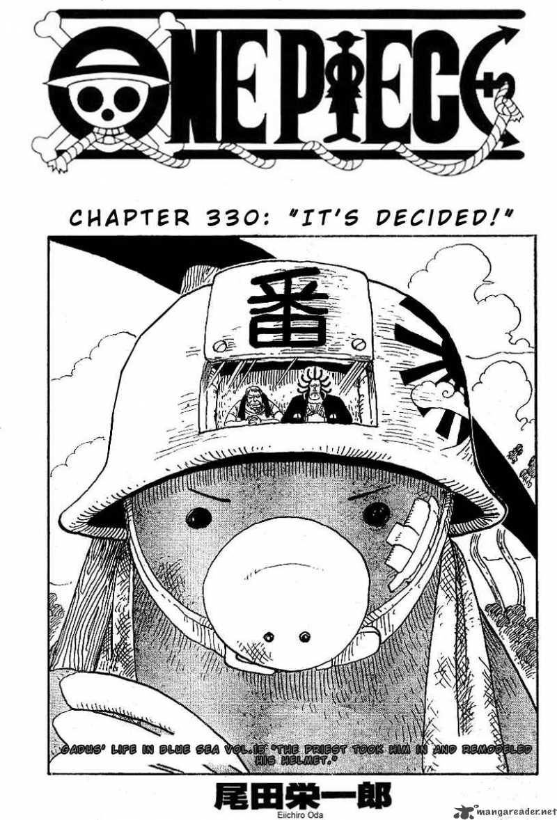 one-piece Chapter 330  Online Free Manga Read Image 1