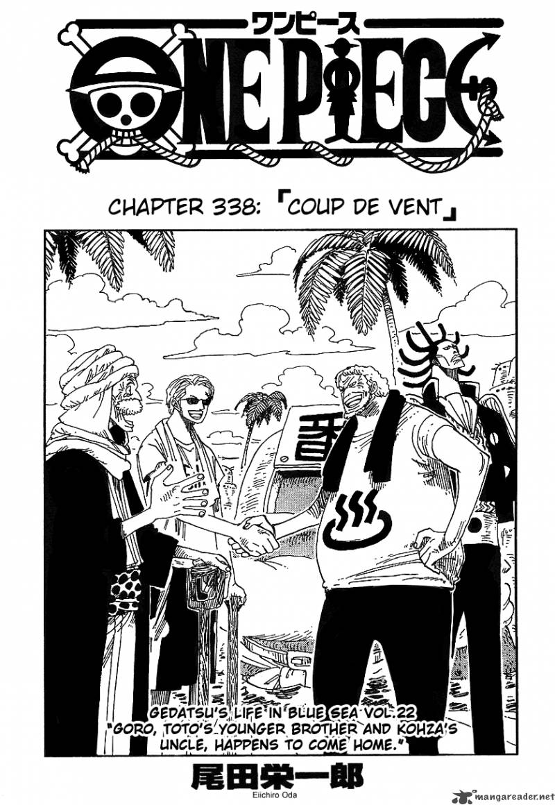 one-piece Chapter 338  Online Free Manga Read Image 1