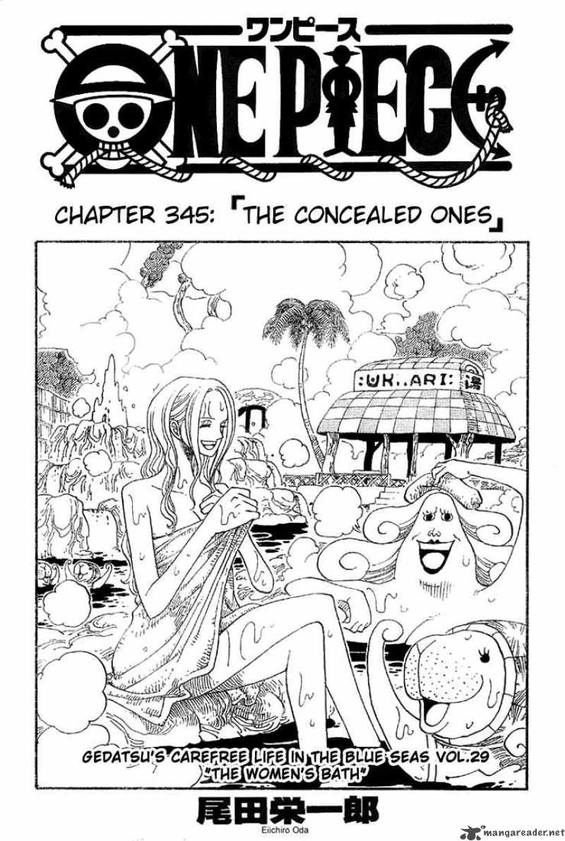 one-piece Chapter 345  Online Free Manga Read Image 1