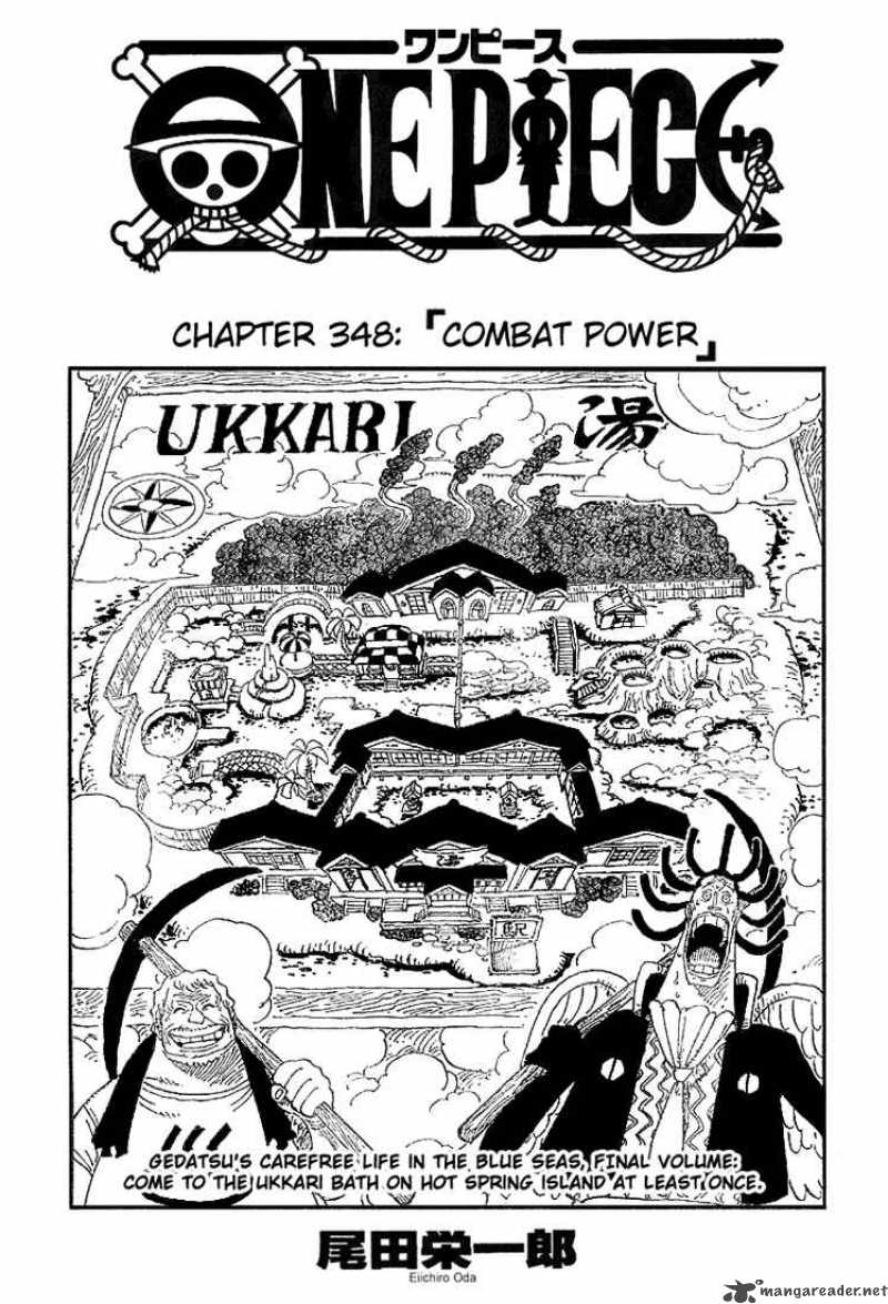 one-piece Chapter 348  Online Free Manga Read Image 1
