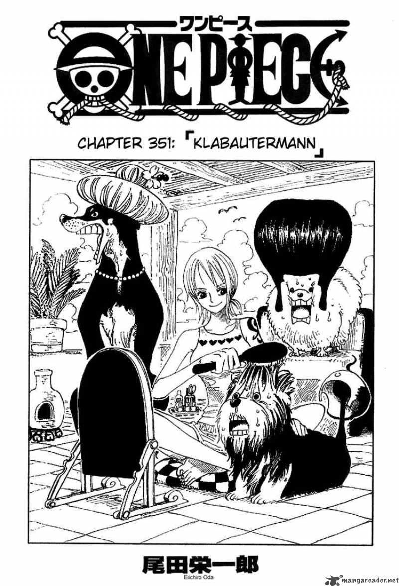 one-piece Chapter 351  Online Free Manga Read Image 1