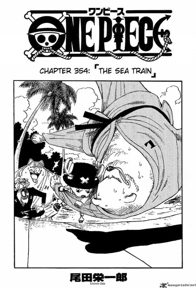 one-piece Chapter 354  Online Free Manga Read Image 1