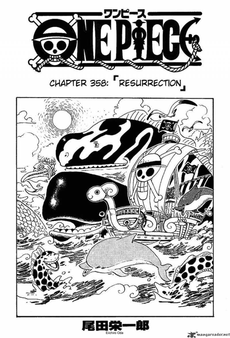 one-piece Chapter 358  Online Free Manga Read Image 1