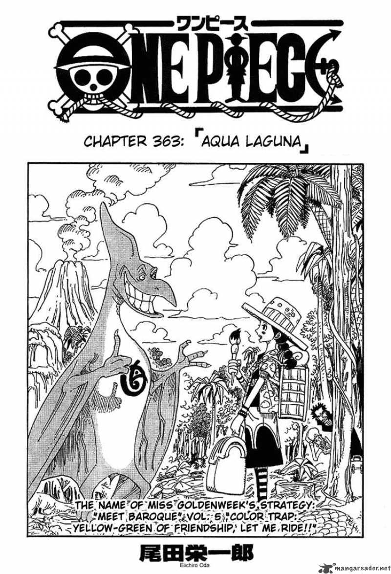 one-piece Chapter 363  Online Free Manga Read Image 1