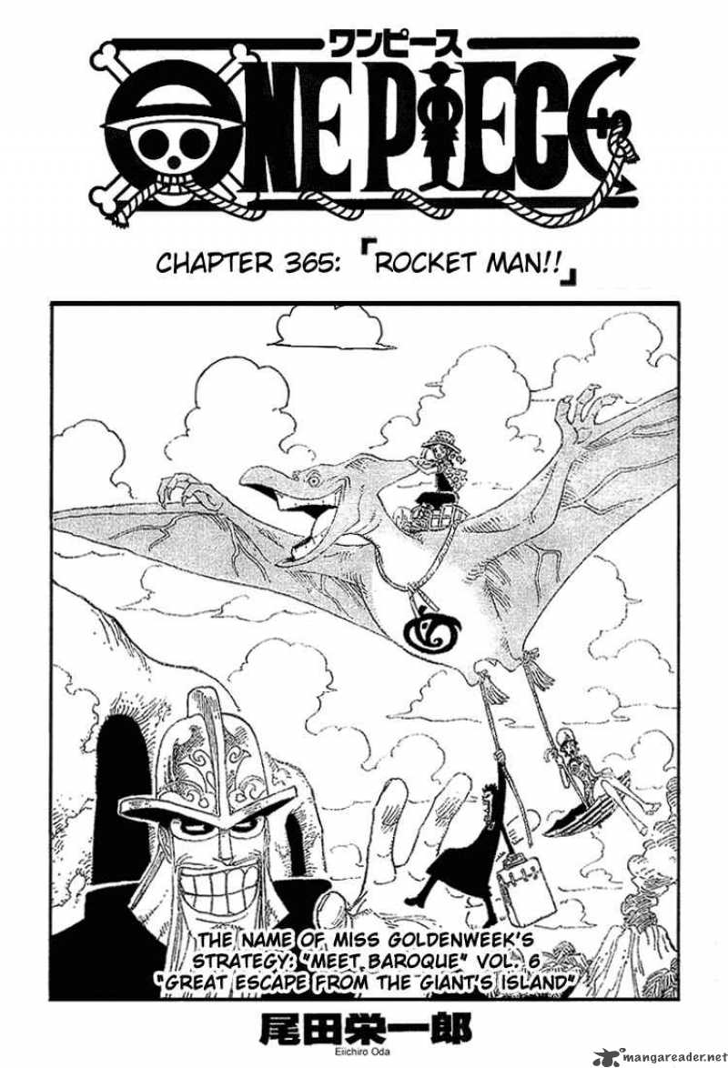 one-piece Chapter 365  Online Free Manga Read Image 1