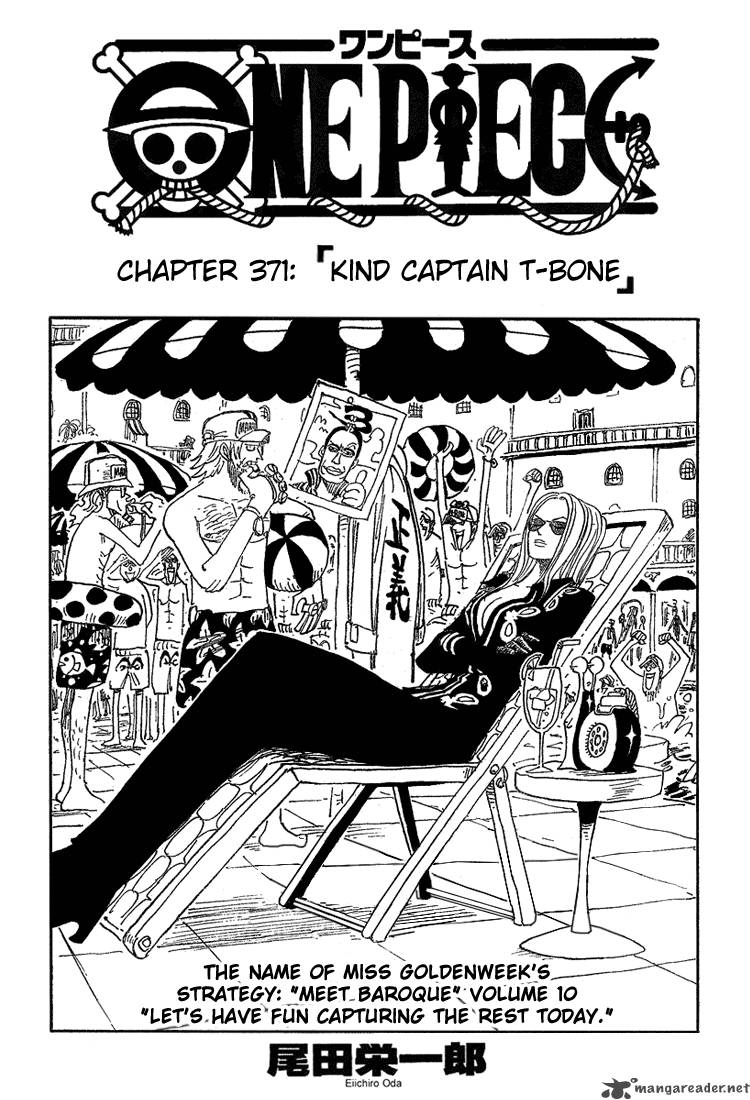 one-piece Chapter 371  Online Free Manga Read Image 1