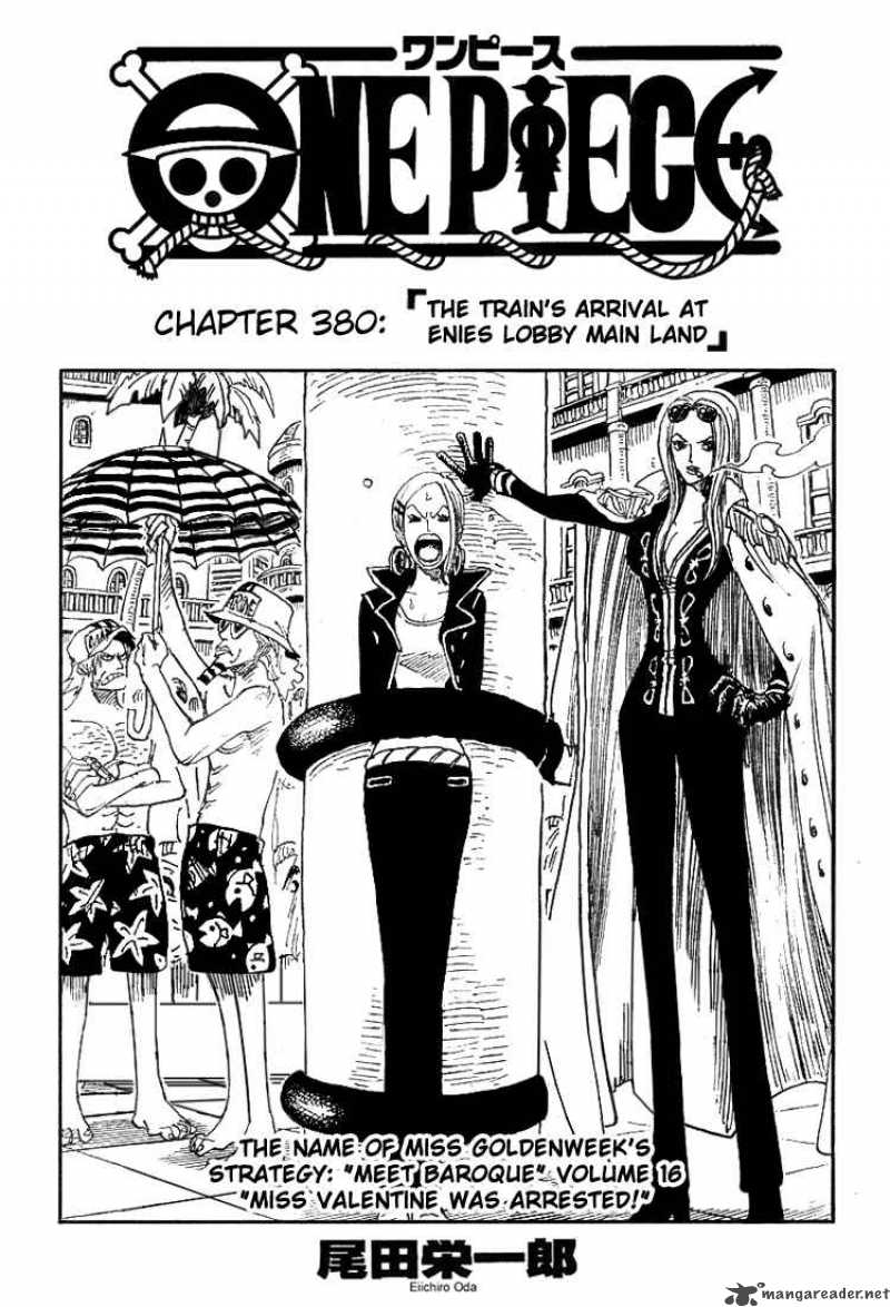one-piece Chapter 380  Online Free Manga Read Image 1
