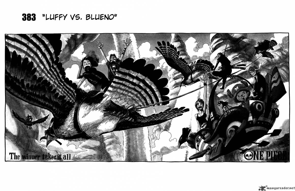 one-piece Chapter 383  Online Free Manga Read Image 3