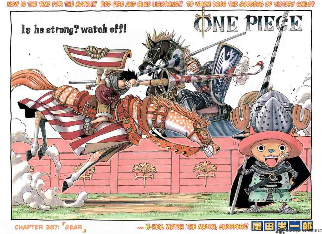 one-piece Chapter 387  Online Free Manga Read Image 1