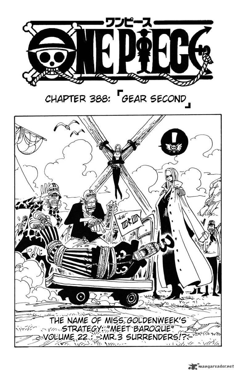 one-piece Chapter 388  Online Free Manga Read Image 1