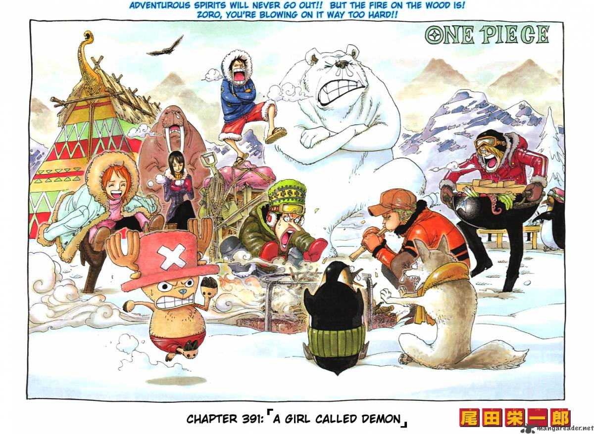 one-piece Chapter 391  Online Free Manga Read Image 1