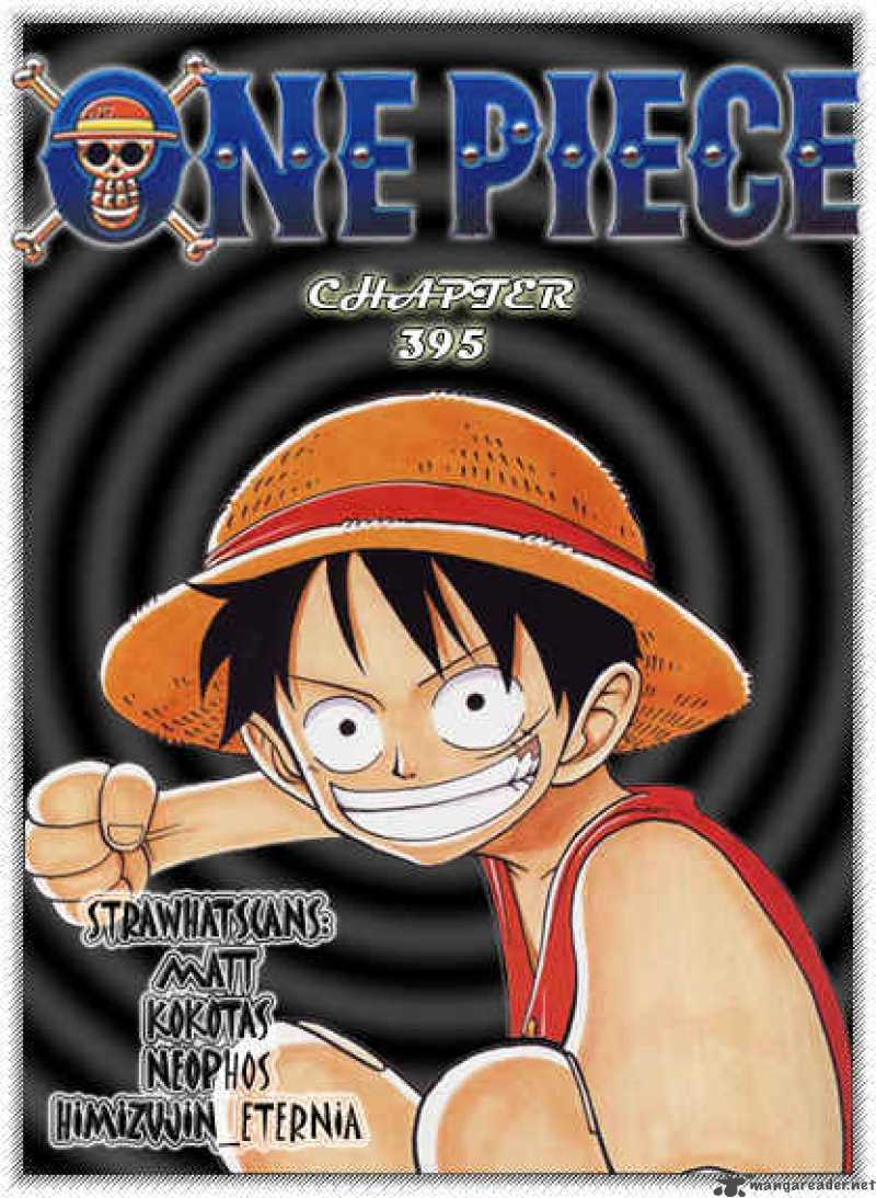 one-piece Chapter 395  Online Free Manga Read Image 1