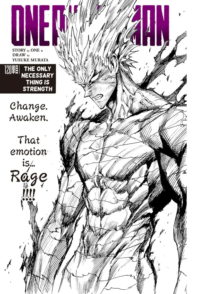 One Punch Man Chapter 120 Read Online Image 1