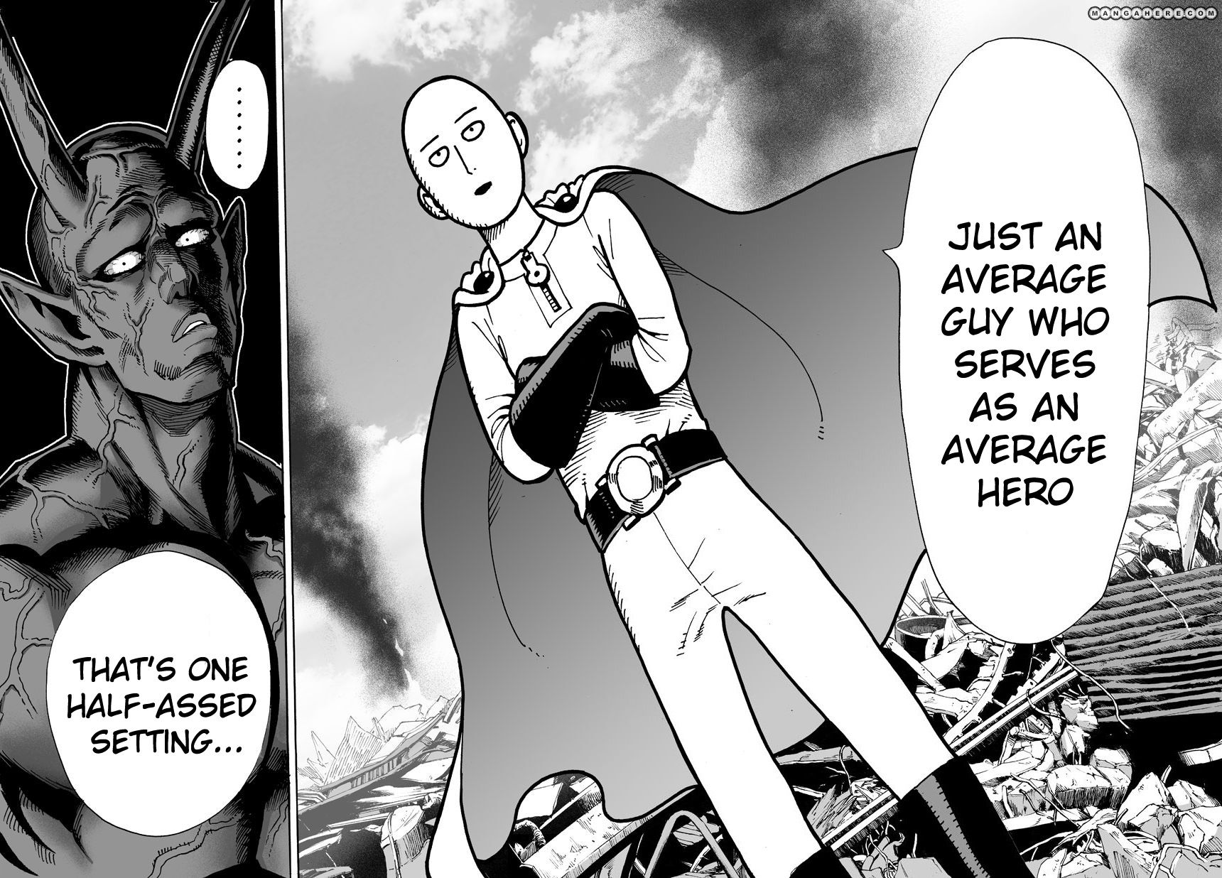 One Punch Man Chapter 1 Read Online Image 14