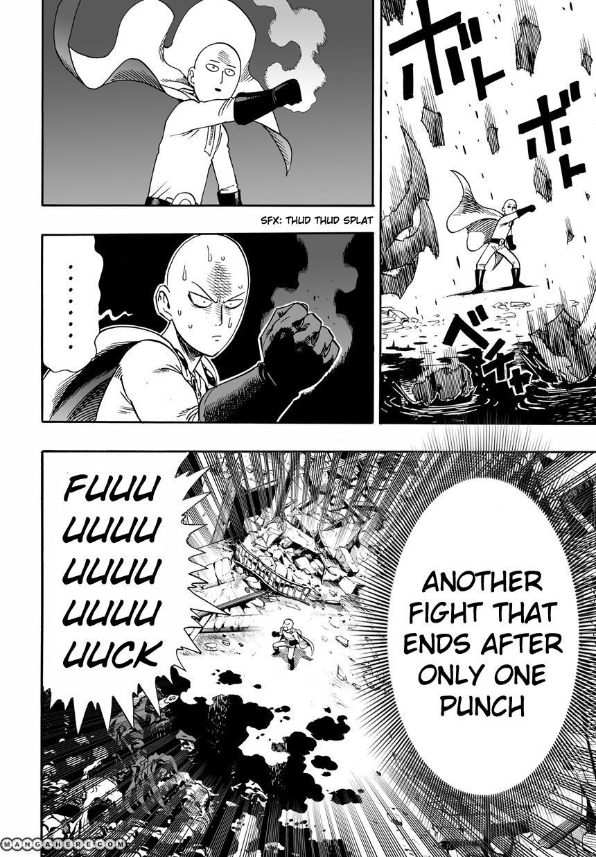 One Punch Man Chapter 1 Read Online Image 19