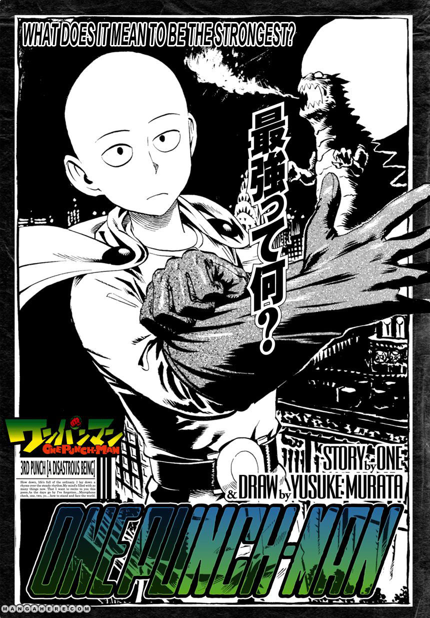 One Punch Man Chapter 3 Read Online Image 2
