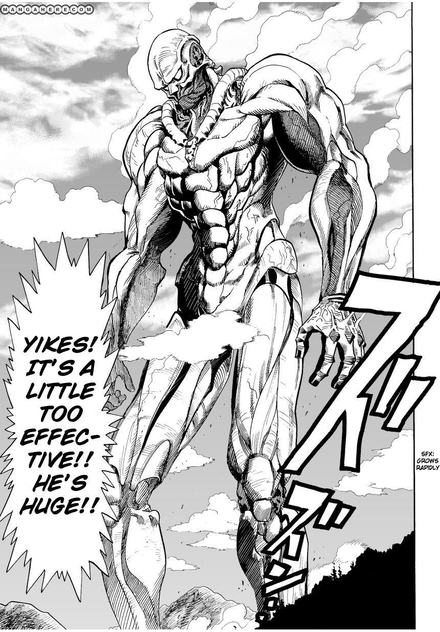 One Punch Man Chapter 3 Read Online Image 6