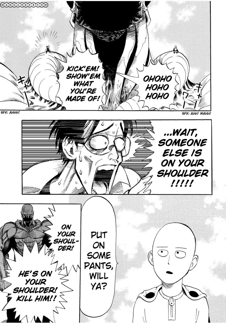 One Punch Man Chapter 3 Read Online Image 12