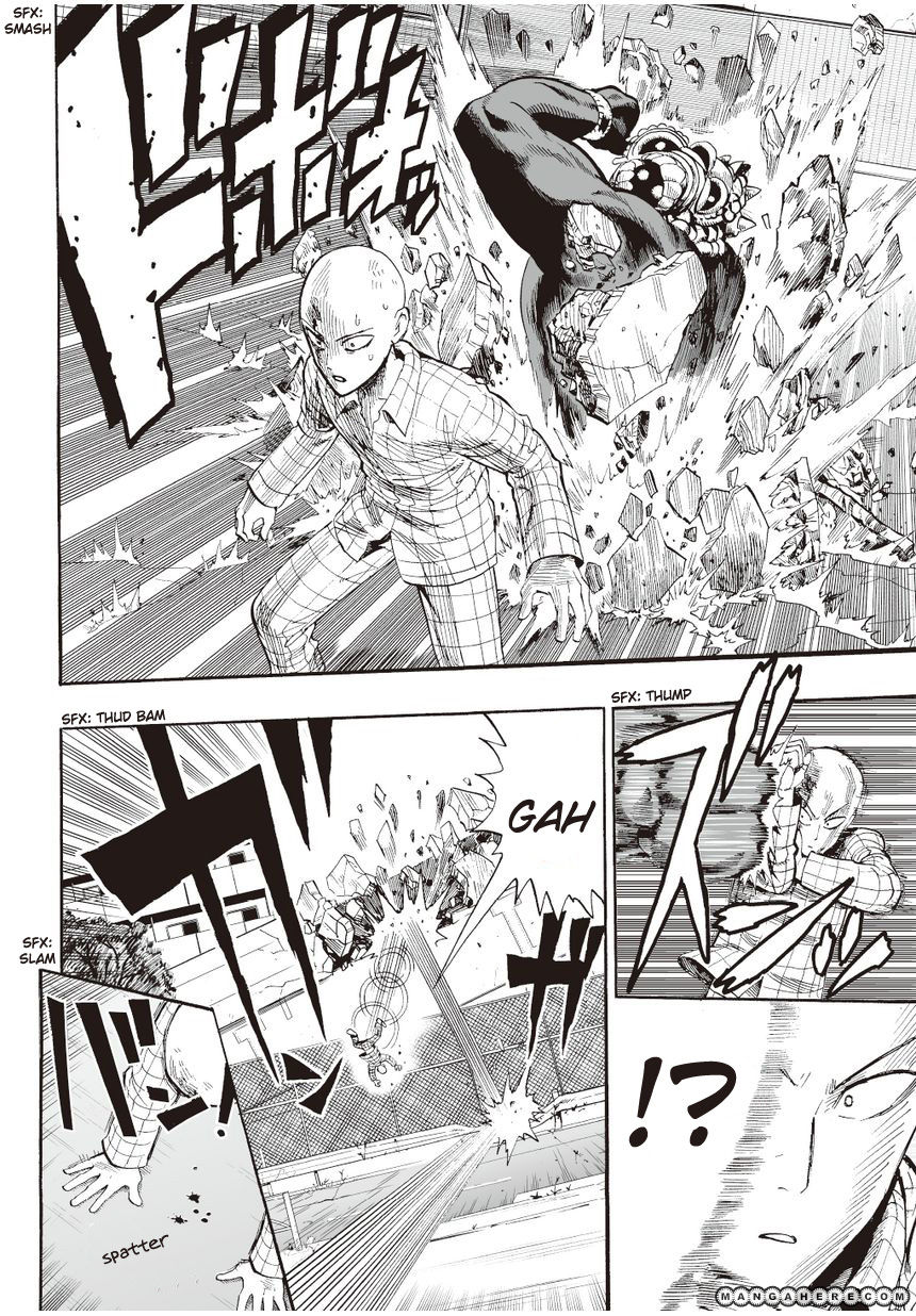 One Punch Man Chapter 4 Read Online Image 7