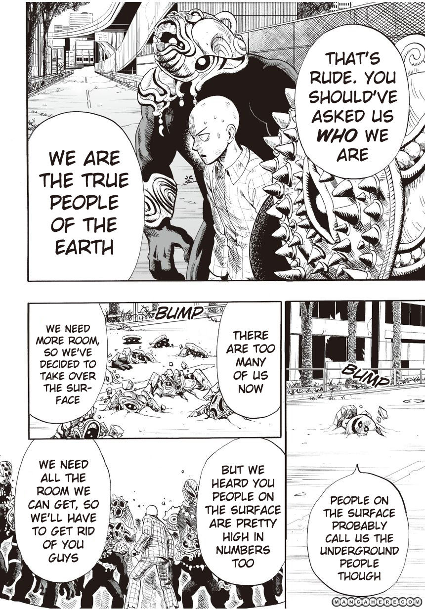One Punch Man Chapter 4 Read Online Image 9