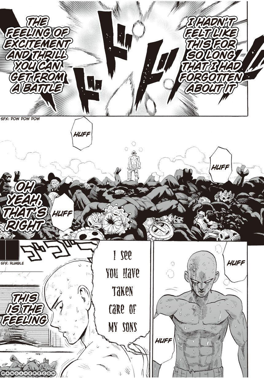 One Punch Man Chapter 4 Read Online Image 15