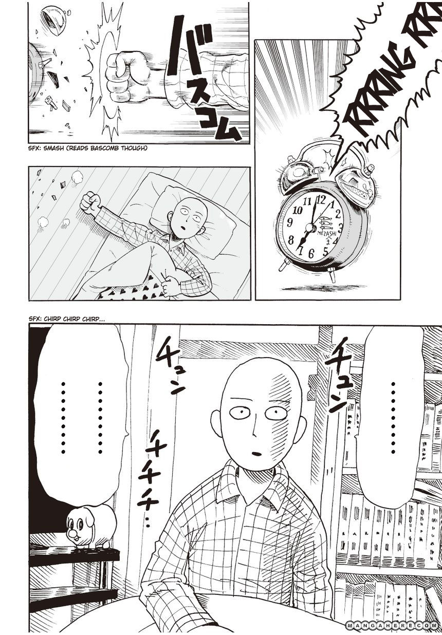 One Punch Man Chapter 4 Read Online Image 18