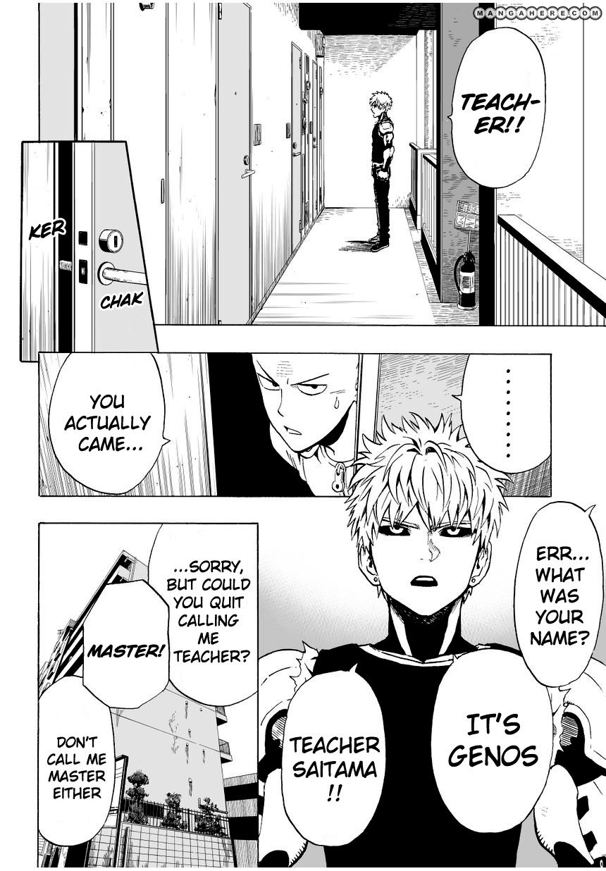 One Punch Man Chapter 7 Read Online Image 3