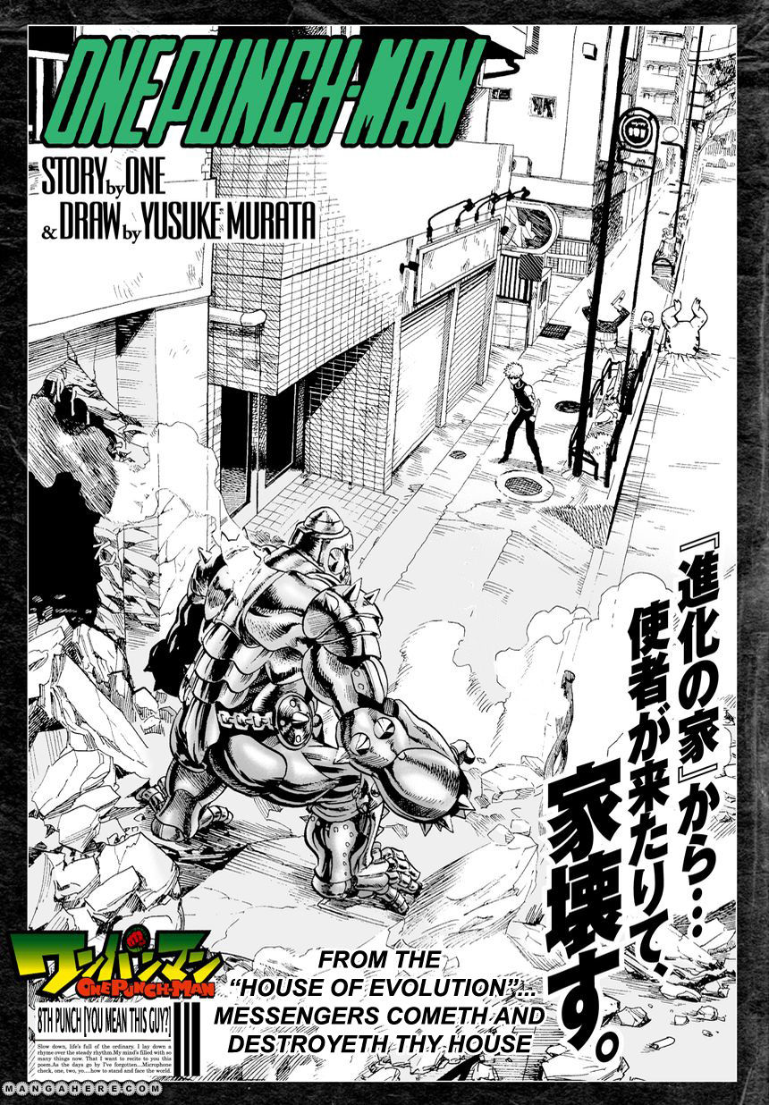 One Punch Man Chapter 8 Read Online Image 2