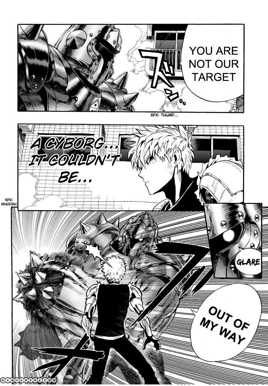 One Punch Man Chapter 8 Read Online Image 3