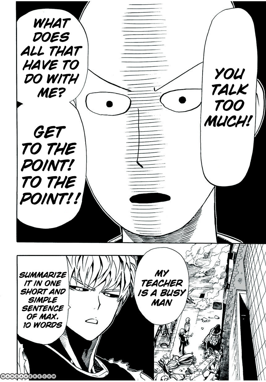 One Punch Man Chapter 9 Read Online Image 7