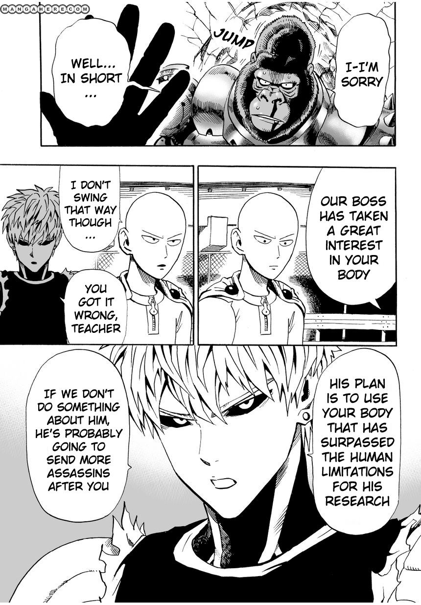 One Punch Man Chapter 9 Read Online Image 8